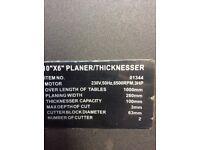 """10"""" Thicknesser planner"""