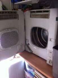 Zanussi TCS 65W Compact Condenser Tumble Dryer White