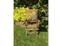 Teak Foldable Garden Chair
