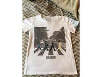 Women's BEATLES T-Shirt size S