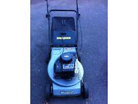 petrol lawn mower masport