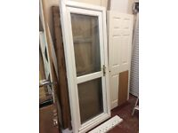UPVC door with frame, like new, could deliver