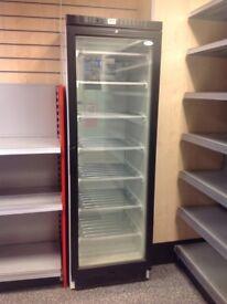 Shop glass door upright freezer! EXCELLENT CONDITION,