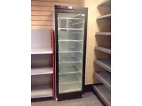 Shop glass door upright freezer! EXCELLENT CONDITION,