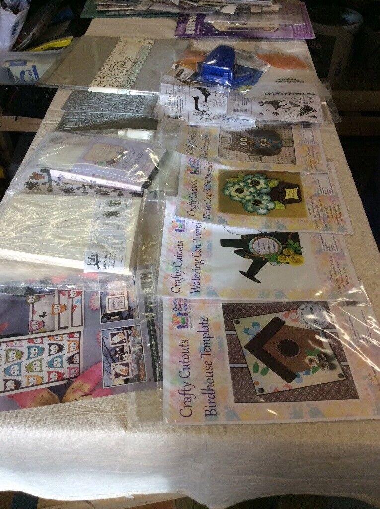 Various craft items set 3