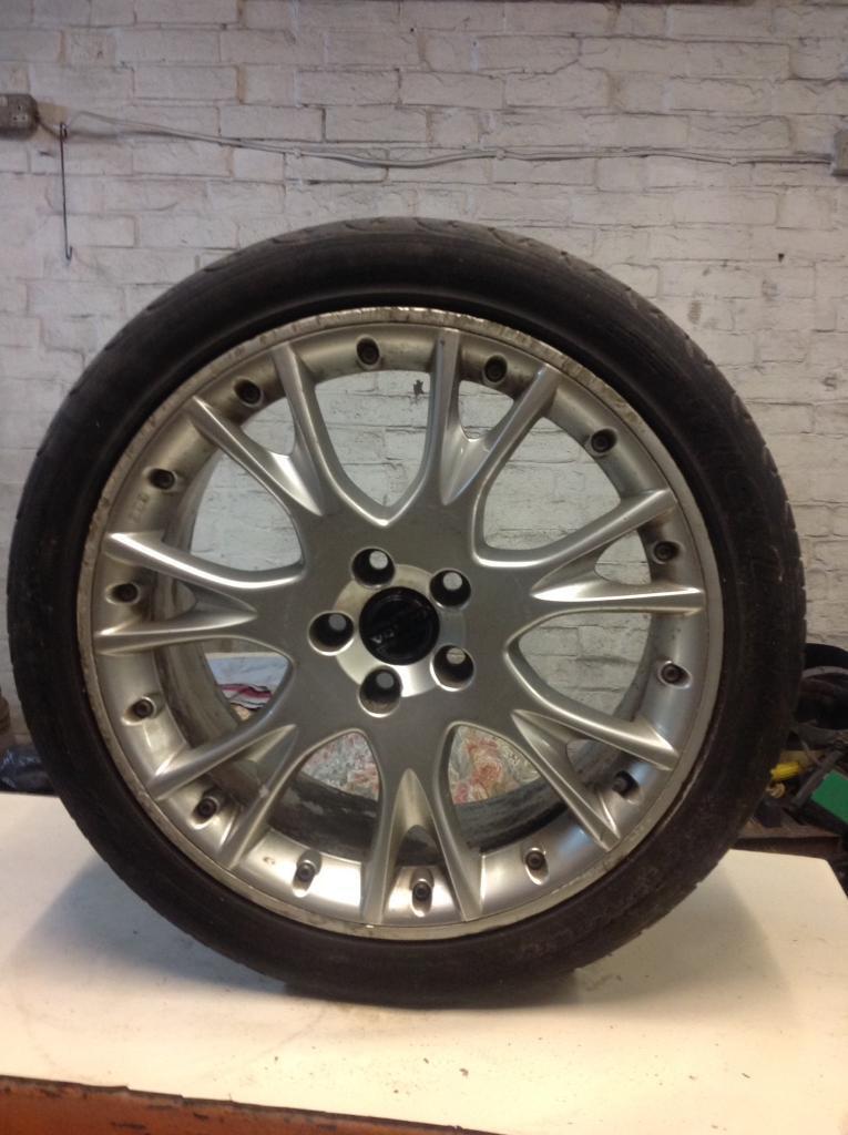 Genuine volvo alloy wheels