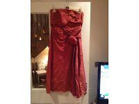 Pink tafida dress