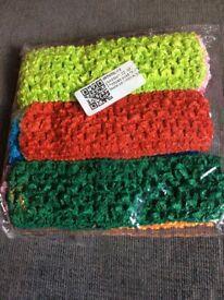 10pc Baby Headband Set (Mixed Colours)
