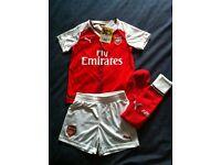 **Brand new Boys Arsenal Football Kit**