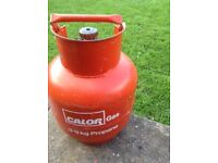 Calor gas bottle 3.9kg propane full and unused