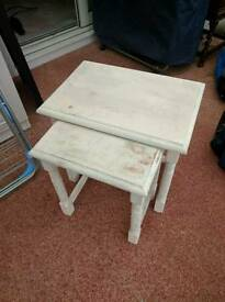 Wooden Shabby Chic white Coffee Table