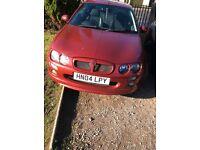 MG ZR - 2004 - 1.4 - Red - 3 Door Hatchback