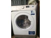 Indesit washer dryer with smart technology - ((Up to 8kg load)). Makes a noise on fast spin.
