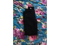Size 8 black skinny jeans
