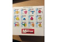 Mr Men books - a collection of 12