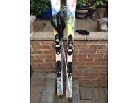 Roxy and rossignol skis