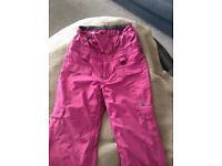 Ladies DC ski snowboard trousers Size M