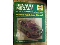 Haynes Manual For Renault Megane 02-08