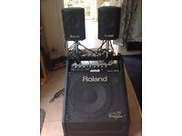 Roland PM30 Drum amp 200watt