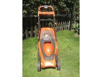 FLYMO CHEVRON ELECTRIC ROTARY LAWNMOWER