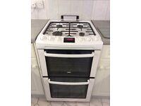 Zanussi Gas Cooker ZCG551 (White)