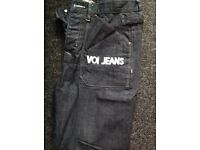 Mens new voi jeans size w32s