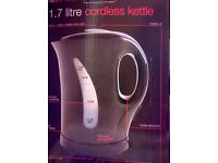 Free Black Cordless Kettle