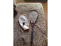 Rica or Squash Racket
