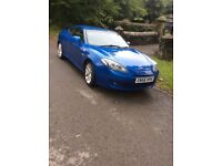 Hyundai Coupe SIII A - 2 litre - 2007 (56 Plate) - Petrol (LPG) - Blue - Manual