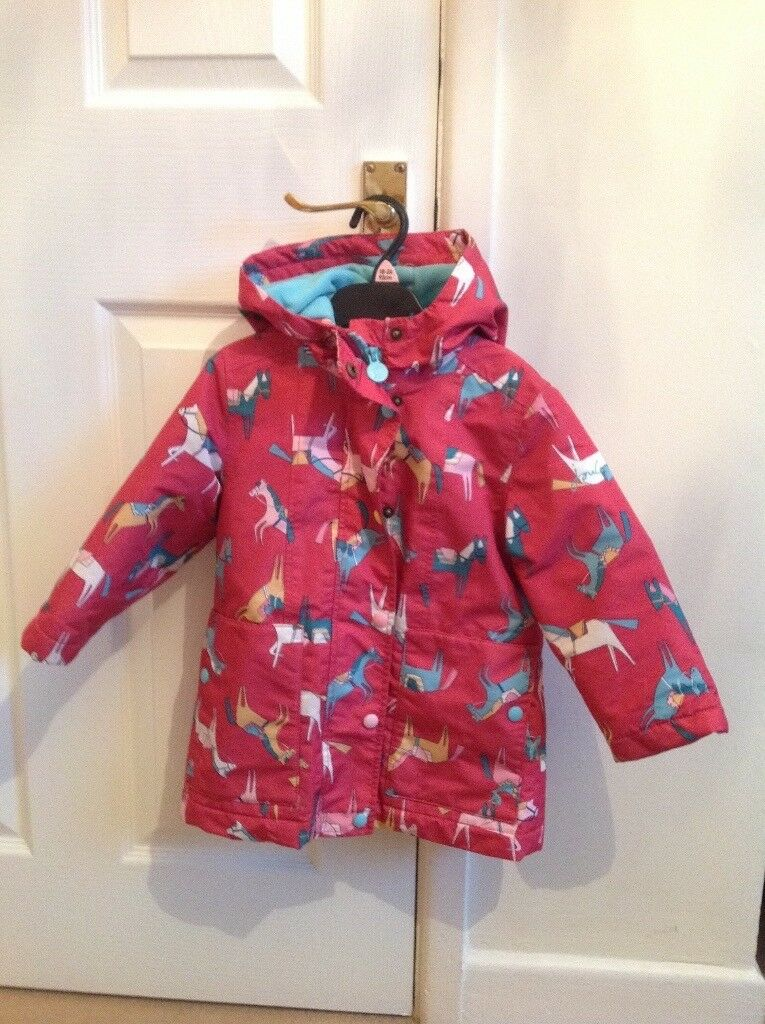 Girls Joules Coat Age 3