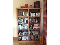 Oak bookcase - any reasonable offer considered