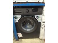 Beko anthracite washing machine. 8kg. £239. New/graded 12 month Gtee