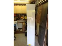 Tall white cupboard for bathroom or kitchen
