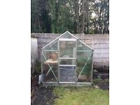 Approx. 6ft x 8ft Greenhouse