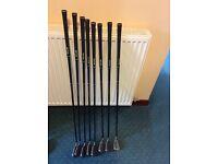 Golf irons ladies/seniors graphite 4-SW