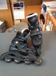 Bauer Rollerblades Adjustable size 3-6 black (SKU:GP7ZJ4)