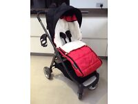 Mamas and Papas Armadillo pushchair with cocoon and extras VGC