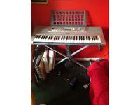 Yamaha Keyboard, with stand