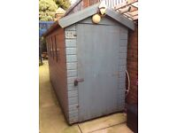 Garden shed 10ft x 4ft in good condition for sale