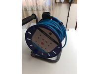 Cable lead reel 25mtrs