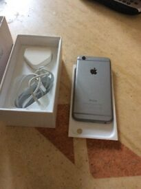 I phone 6 - on EE (but I may unlock) 16gb space grey - black front unused bought 6 months ago and p
