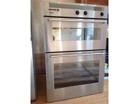 Integrated Bosch double oven for sale, great condition