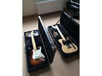 Fender American Standard, Telecaster and Stratocaster