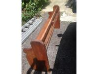 Large Reclaimed Church pew pitch pine