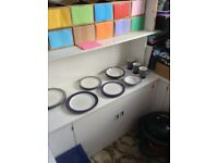 Denby Storm selection of 13 pieces