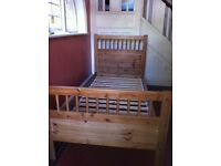 Wooden Single Bed / 2 Available / Possible Delivery
