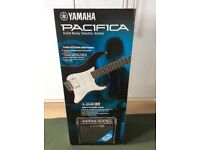 Yamaha Pacifica 012 Black Electric Guitar Package BNIB