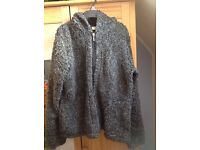 Womans NEXT shaggy style hoody/jacket size 12