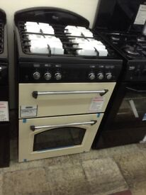 Leisure classic double oven. Cream. £349 new/graded 12 month Gtee
