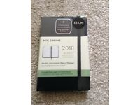 New Black 2018 Moleskine Pocket Weekly Horizontal Diary / Planner - Hard Cover